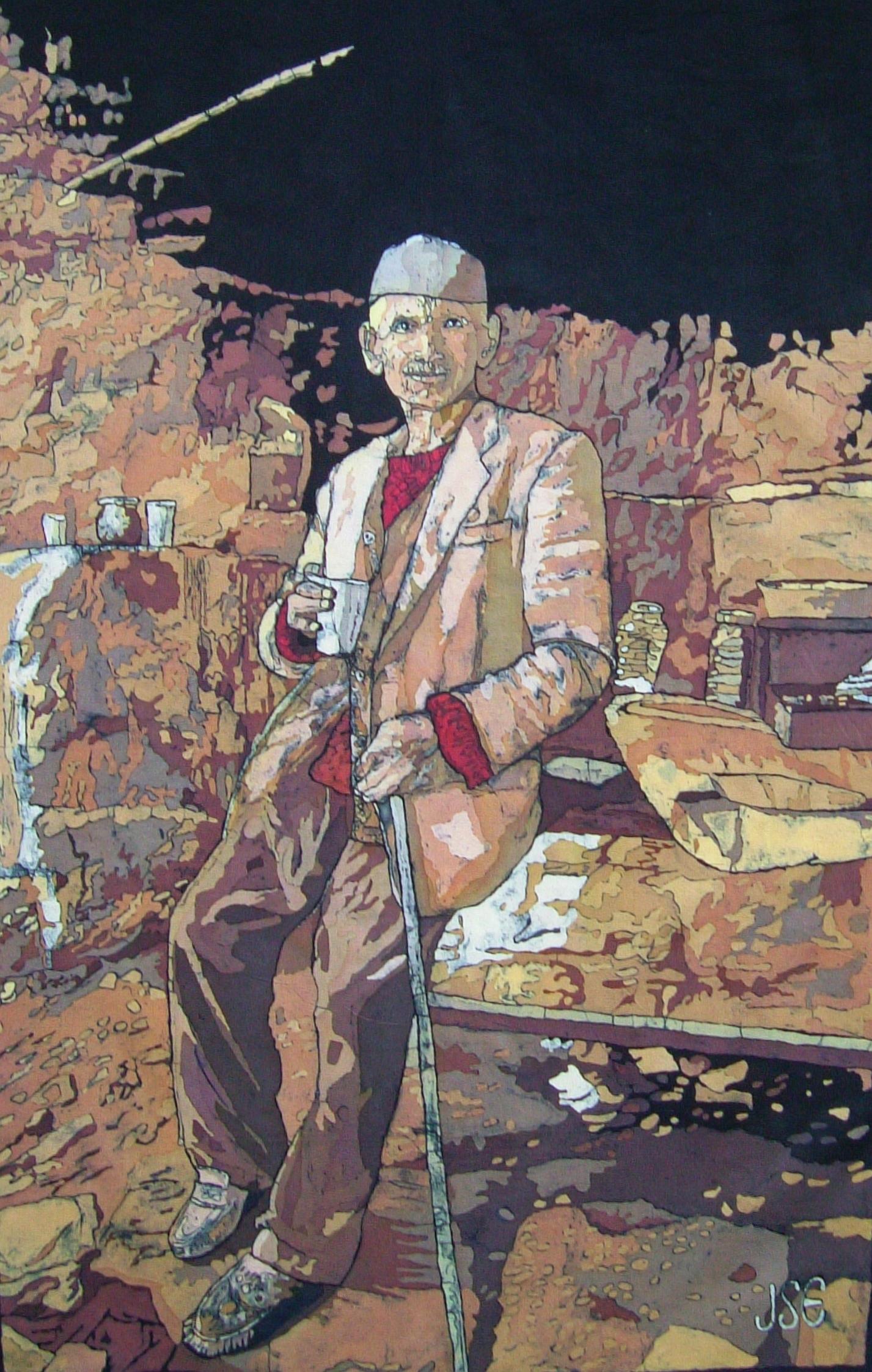 Man in Sepia