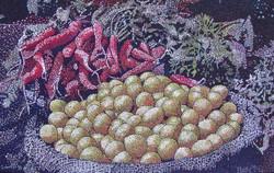 Limes & Carrots in a Delhi Market