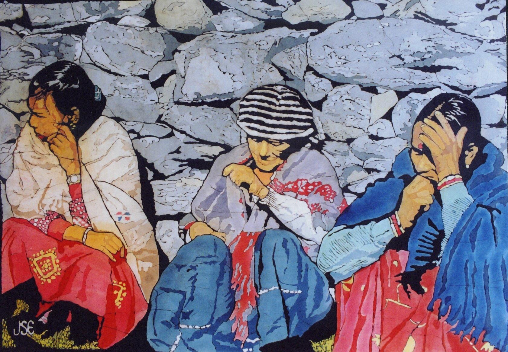 Three Kumaoni Women