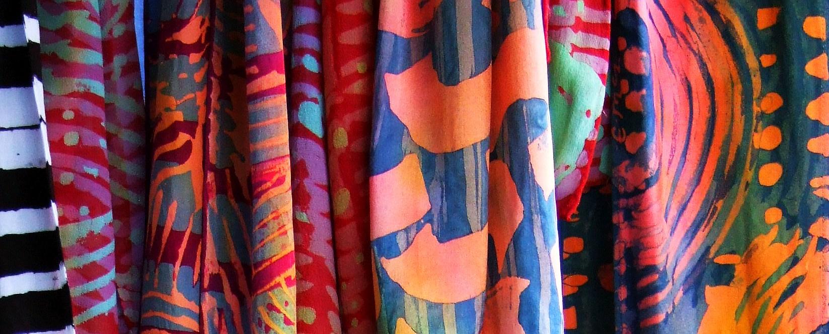 Batik Scarves