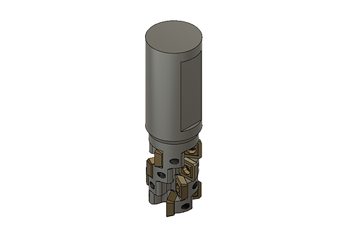 Indexable End Mill