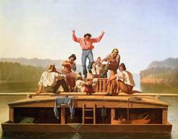 keelboat dancing