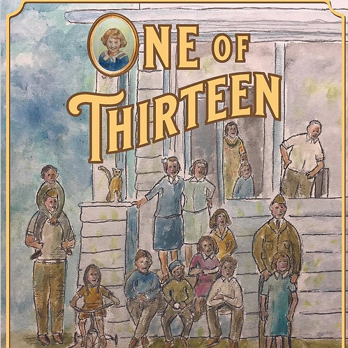 One of Thirteen  (soft cover)