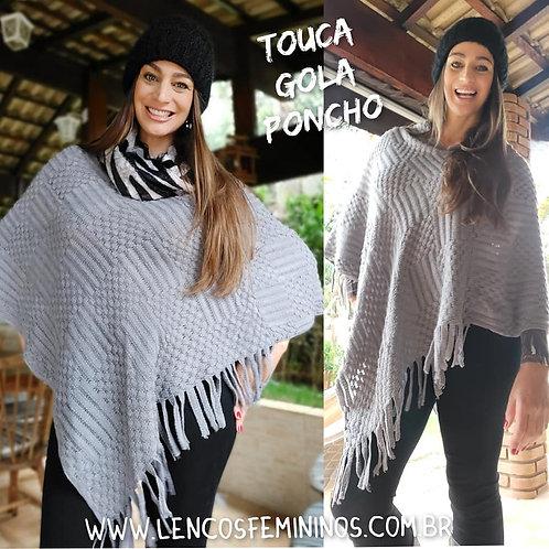 PONCHO (PO25) cinza