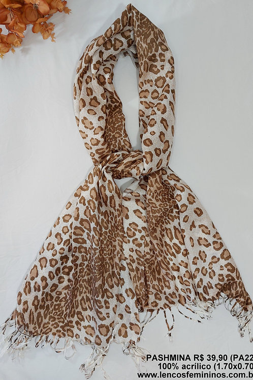 PASHMINA (PA22) Animal Print