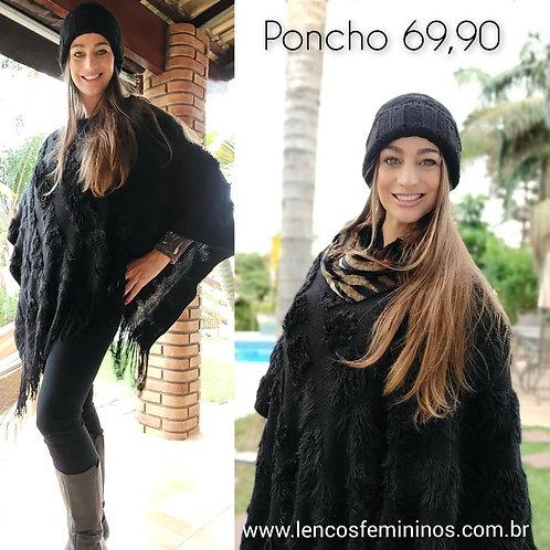 PONCHO (PO12) preto