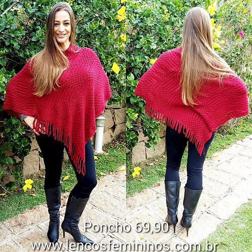 PONCHO (PO05) vermelho
