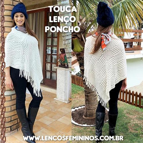 PONCHO (PO24) off white
