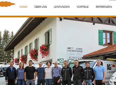 Von der alten zur neuen Homepage!