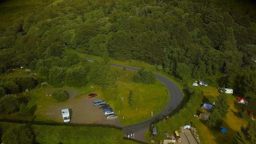 Le camping Domaine de La Grande Cascade au Mont-Dore en plein coeur de l'Auvergne!
