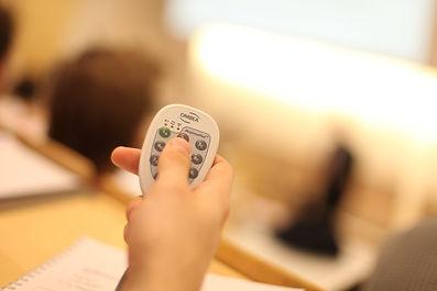 OMBEA ResponsePad stemhandset