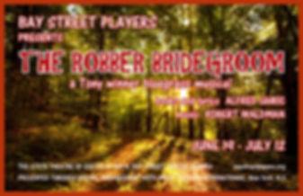 SHOW 5 THE ROBBER BRIDEGROOM, SHOW POSTE