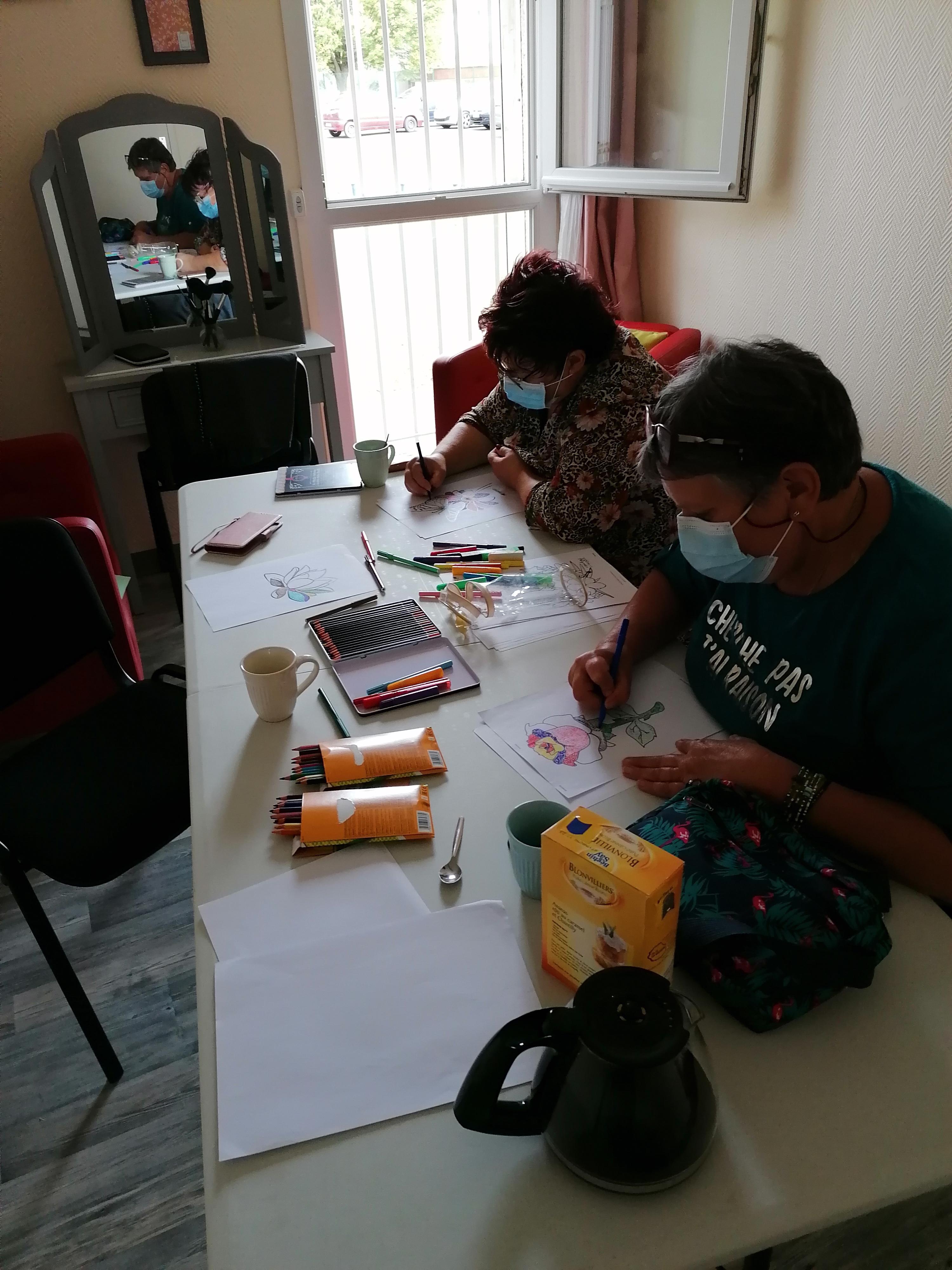 Atelier Pointillisme