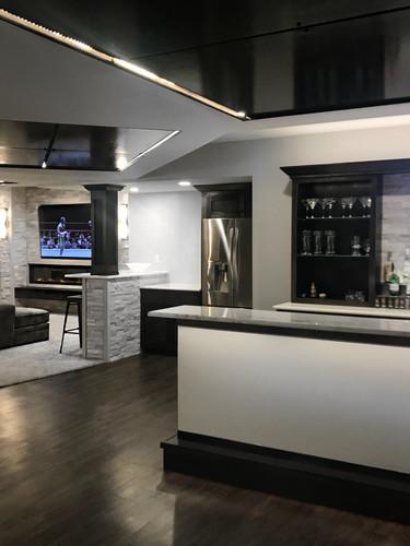 Interior Basement Design and Build
