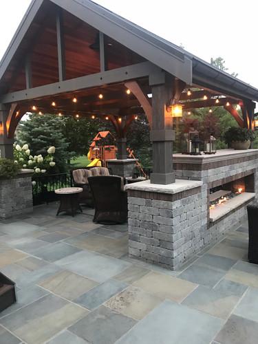 Backyard Landscape and Hardscape