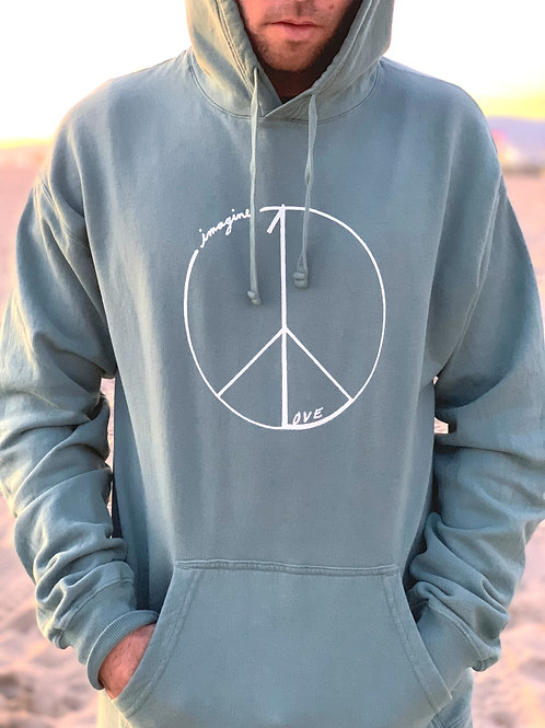 Peace Pullover Hoodie
