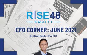 CFO Corner: Rise48 Equity Portfolio Updates June 2021