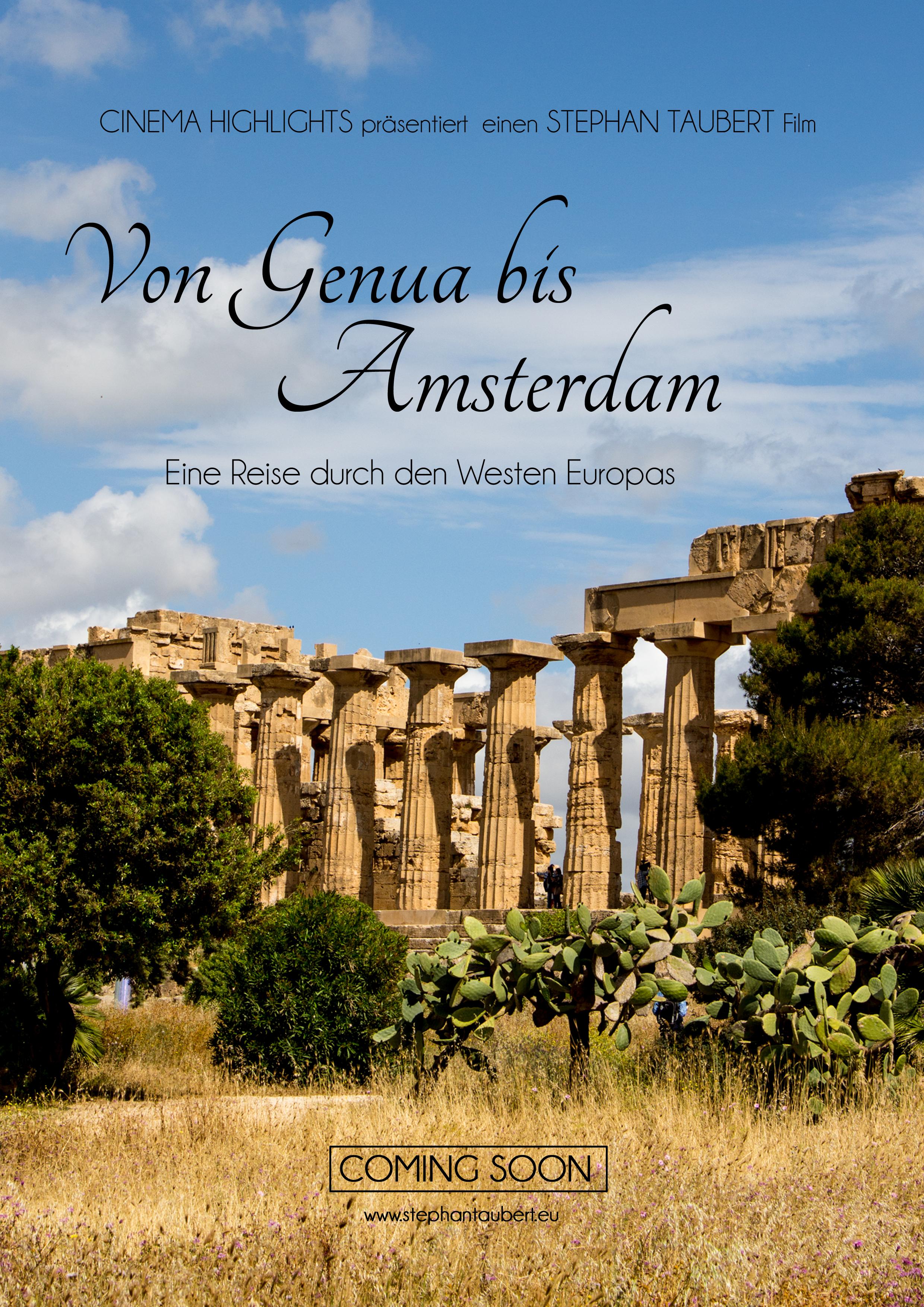 """""""Von Genua bis Amsterdam"""" (2019)"""