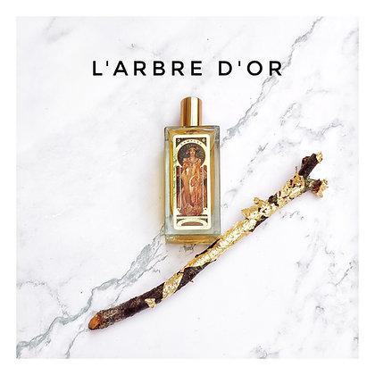 L'Arbre d'Or, le parfum