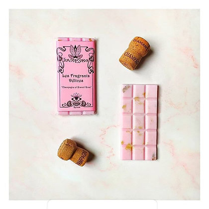 Champagne et Biscuit Rose
