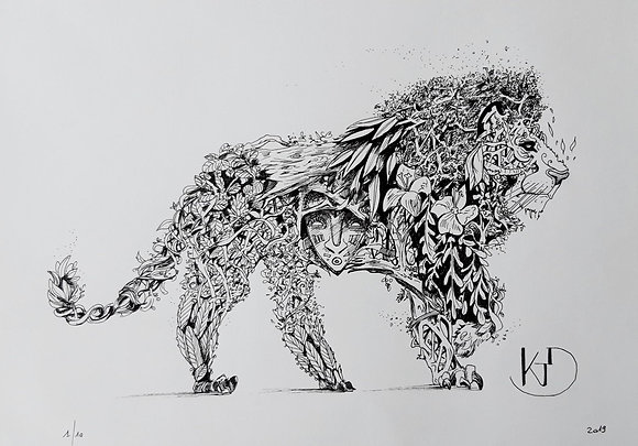 Vegetanimal Lion