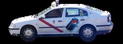 publicidad taxi Madrid PEPSI