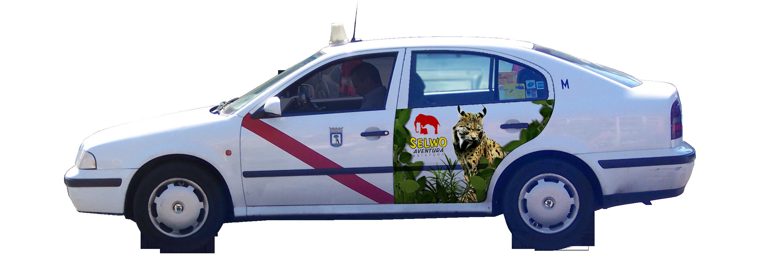 publicidad taxi Madrid SELWO