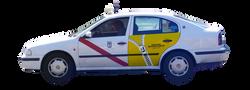 publicidad taxi Madrid RETOUCHERIE