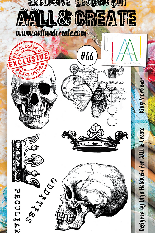 A6 Clear Stamps #66 by Olga Heldwein
