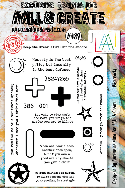 A5 Stamp set #489