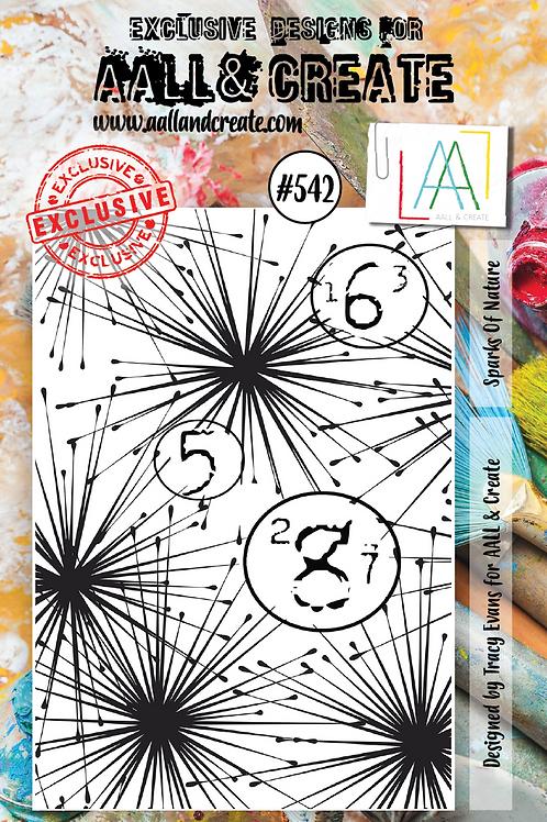 A7 Stamp set #542