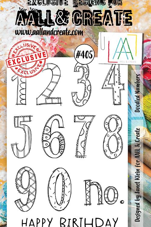 A6 Stamp set #405