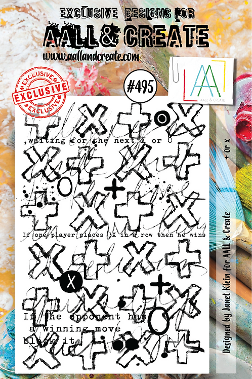 A7 stamp set #495