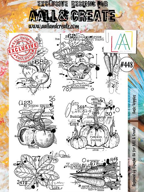 A4 Stamp set #448