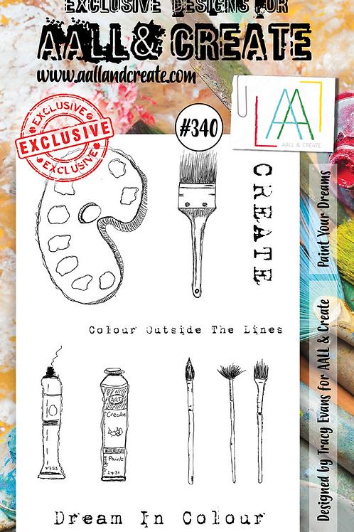 A6 Stamp set #340