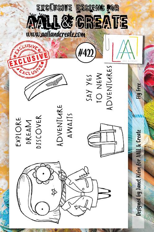 A7 Stamp set #422