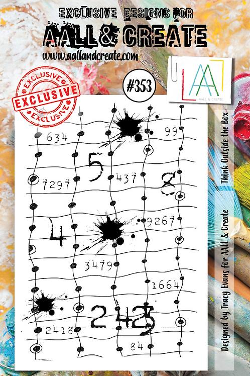 A7 Stamp set #353