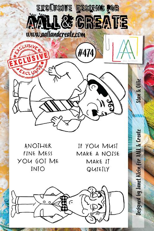 A7 Stamp set #474