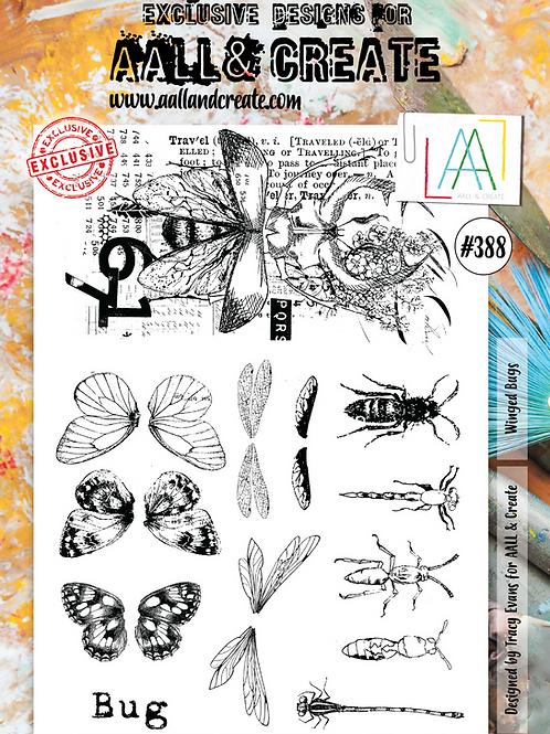 A4 Stamp set #388