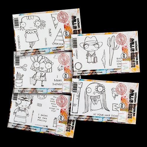 5 A7s Stamp sets