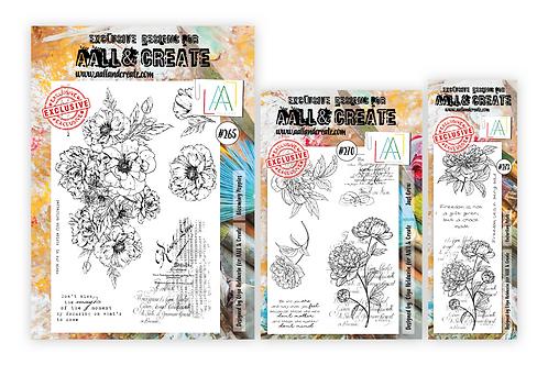 Olga's Flowers - 3 stamp sets