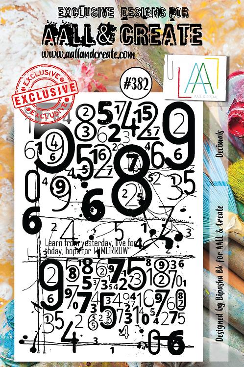 A7 Stamp set #382