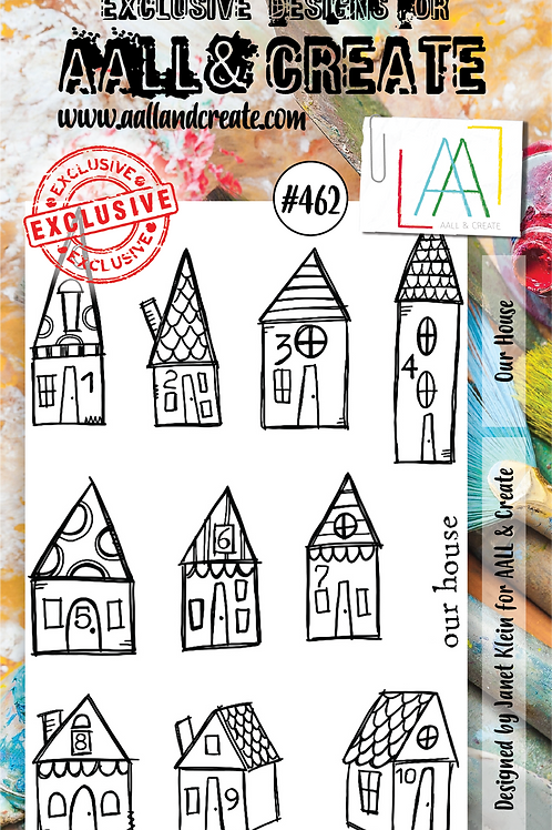 A6 Stamp set #462