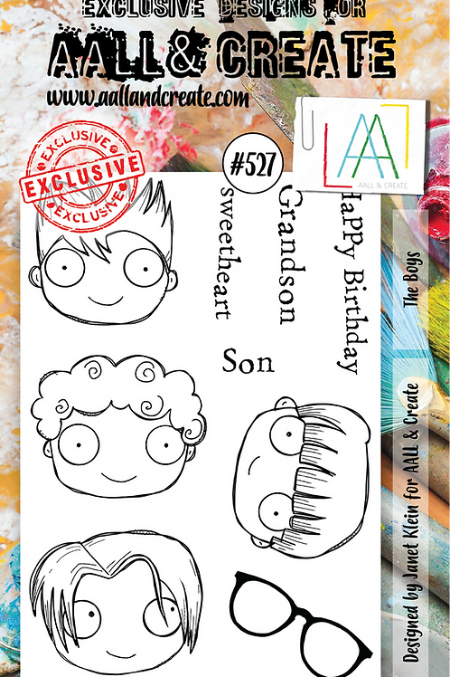 A6 Stamp set #527