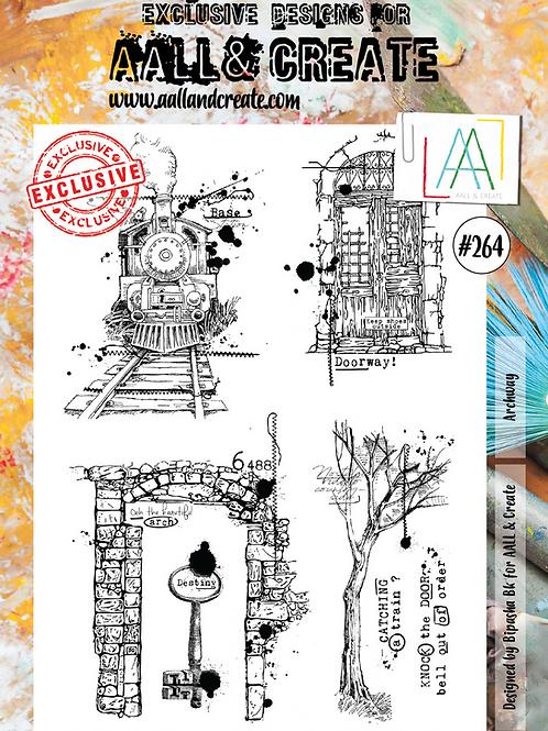 A4 Stamp set #264