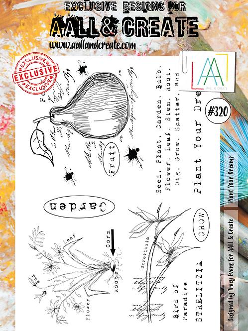 A4 Stamp set #320