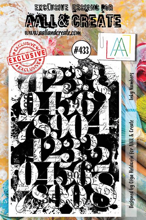 A7 Stamp set #433