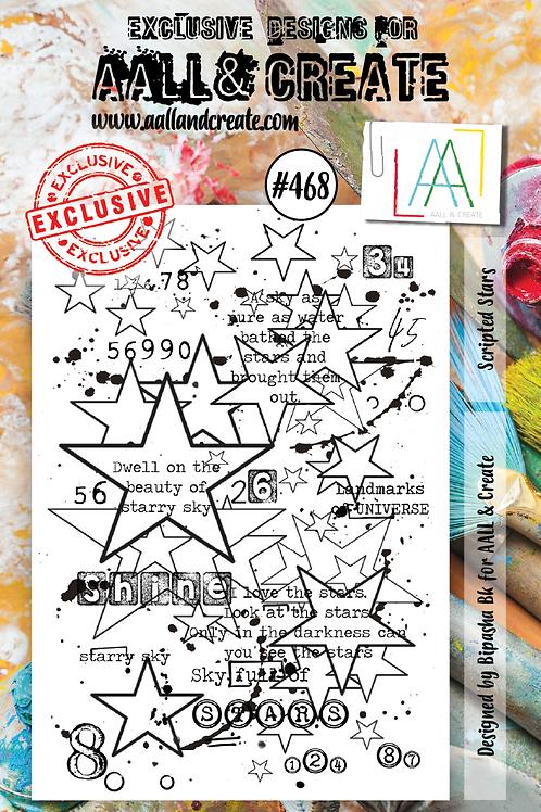 A7 Stamp set #468