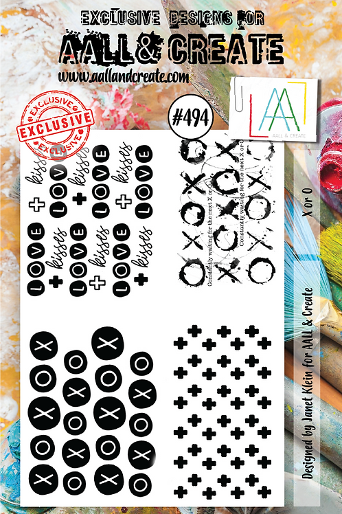 A7 Stamp set #494