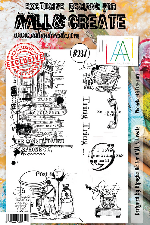A5 stamp set #237